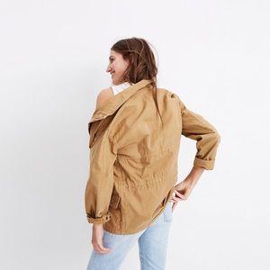 Madewell Prospect Jacket in Dark Sahara G4853